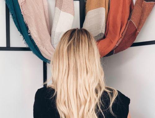 Den Schal trendy binden