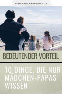 Mädchen-Papa