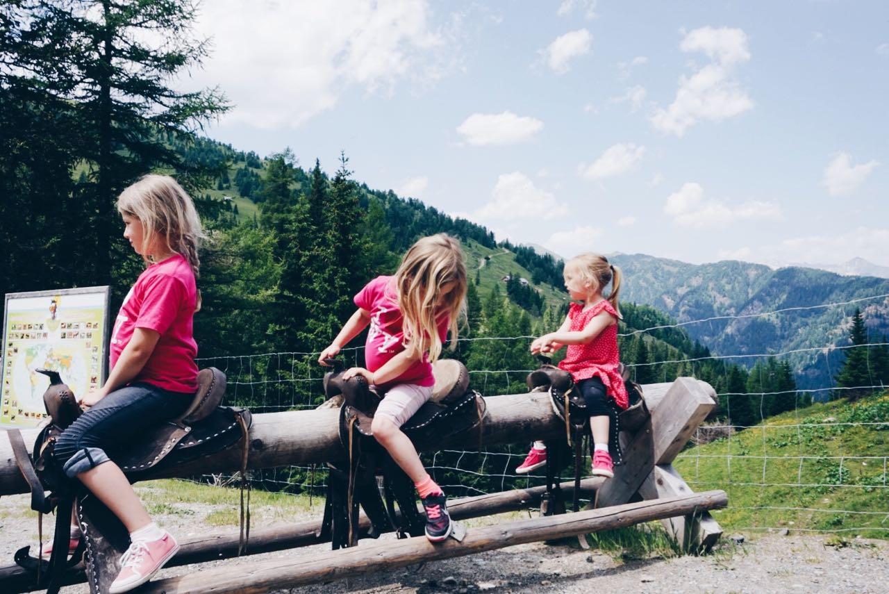 Wochenende in Bildern Katschberg MamaWahnsinnHochDrei