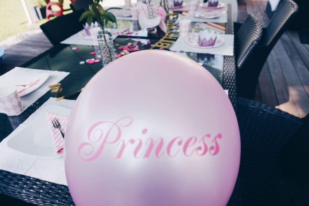 3. Geburstag: Prinzessinnen Pary für 3 jährige Mädchen zum dritten Geburtstag
