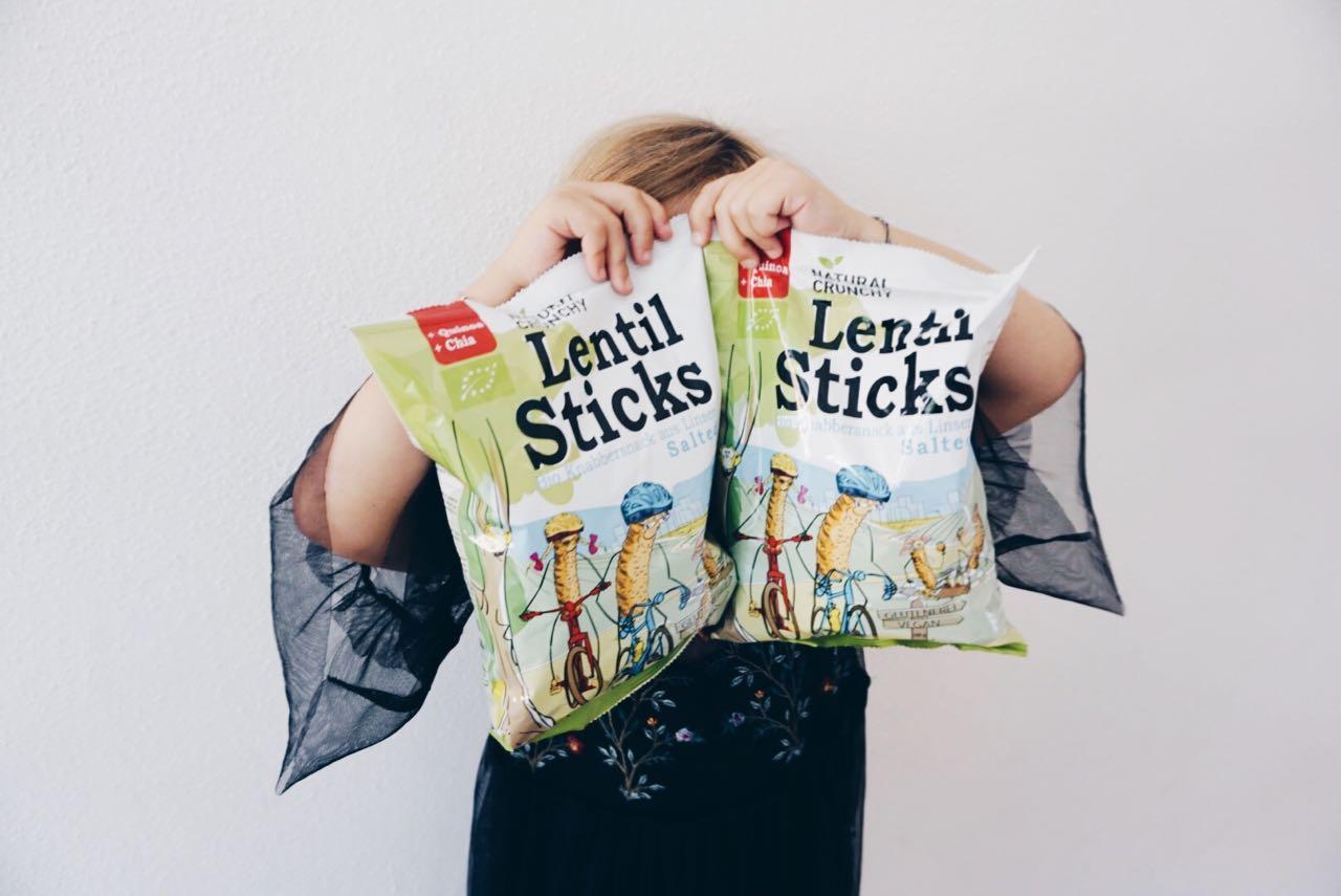 Lentil Sticks MamaWahnsinnHochDrei