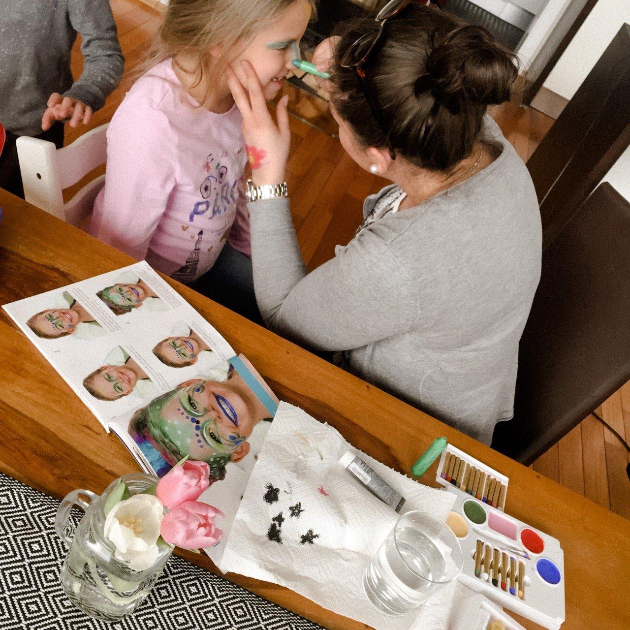 Kinderschminken stressbefreit MamaWahnsinn