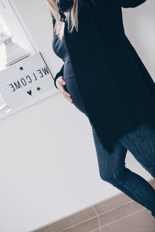 Schwangerschafts-Upate mit vielen Details MamaWahnsinnHochDrei 37. Woche