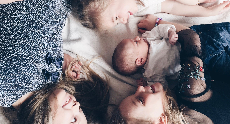 Vier Kinder MamaWahnsinn
