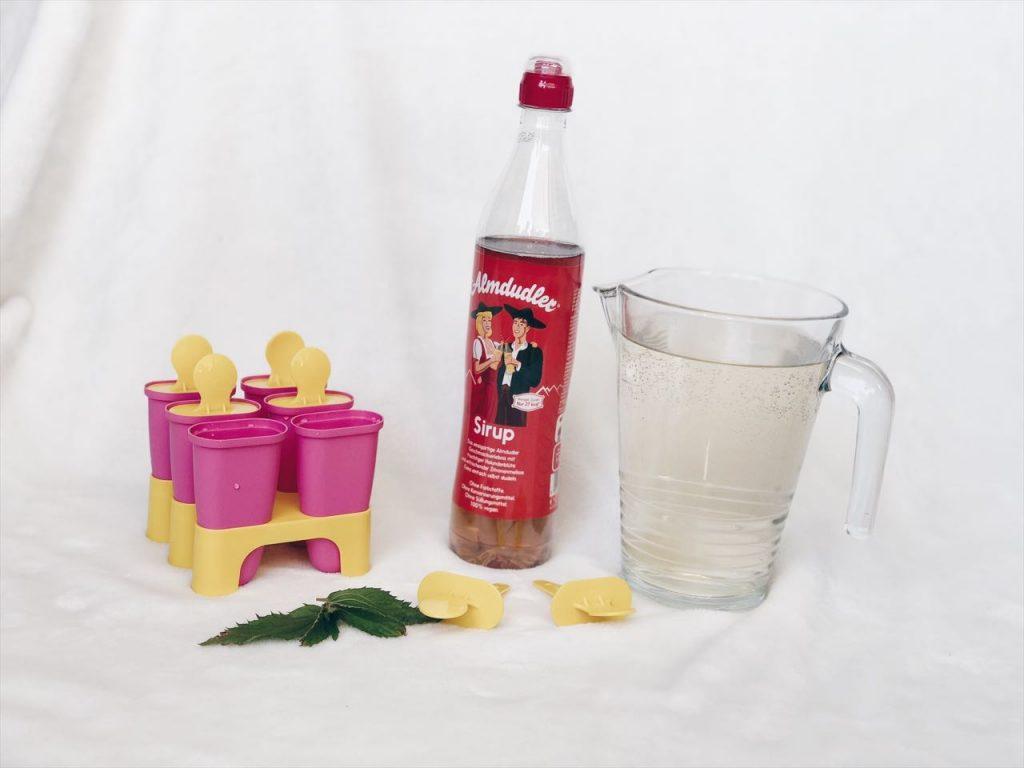 Almdulder Sirup ist auch für selbstgerechtes Eis ideal