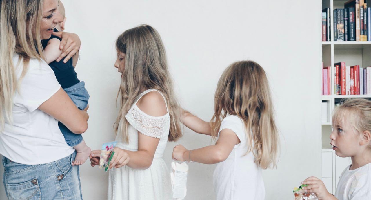 Griechenland alleine mit vier Kindern