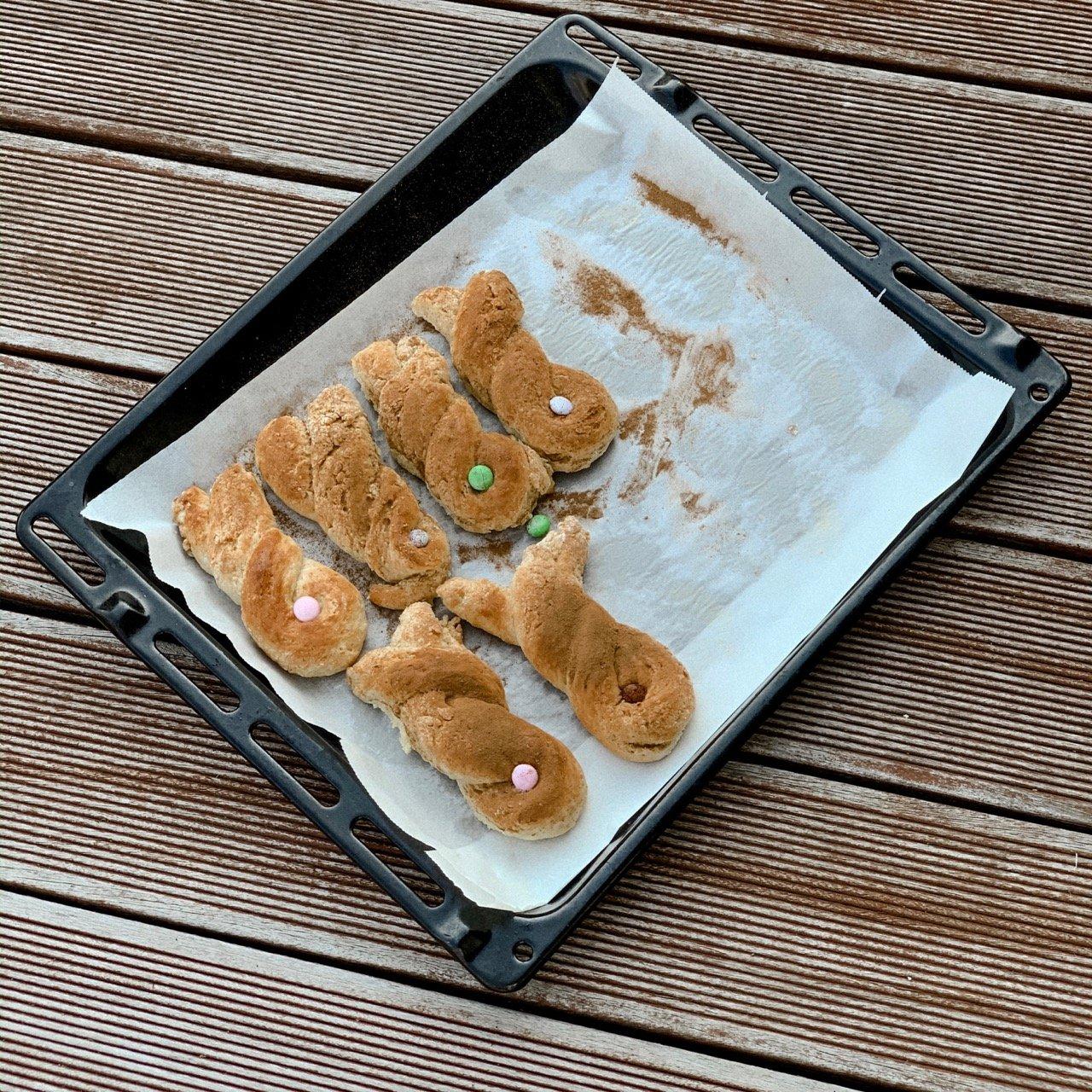 Topfenhäschen mit Dinkel Mamawahnsinnhochvier