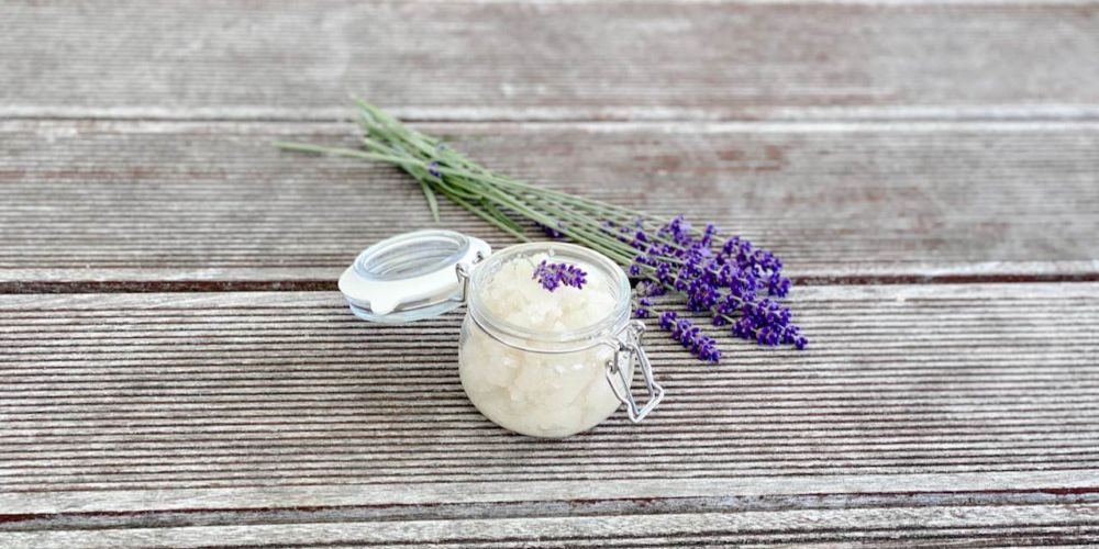 Lavendel Bodypeeling MamaWahnsinnHochVier MamaWahnsinn Mamablog