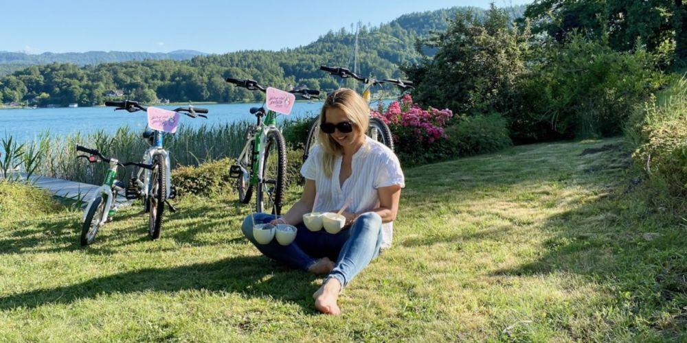 #girodelgelato2020 woom bikes mamawahnsinnhochvier mamawahnsinn