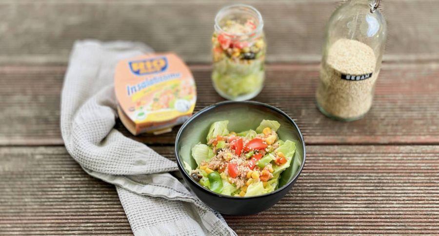 schneller thunfisch-salat
