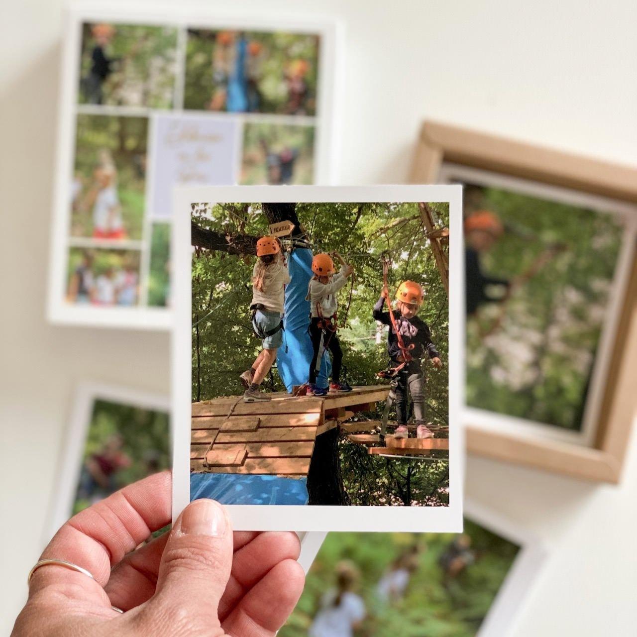 Ein Bild aus der Retrobox - so schön, Bestimmertage mit Geschwisterkinder