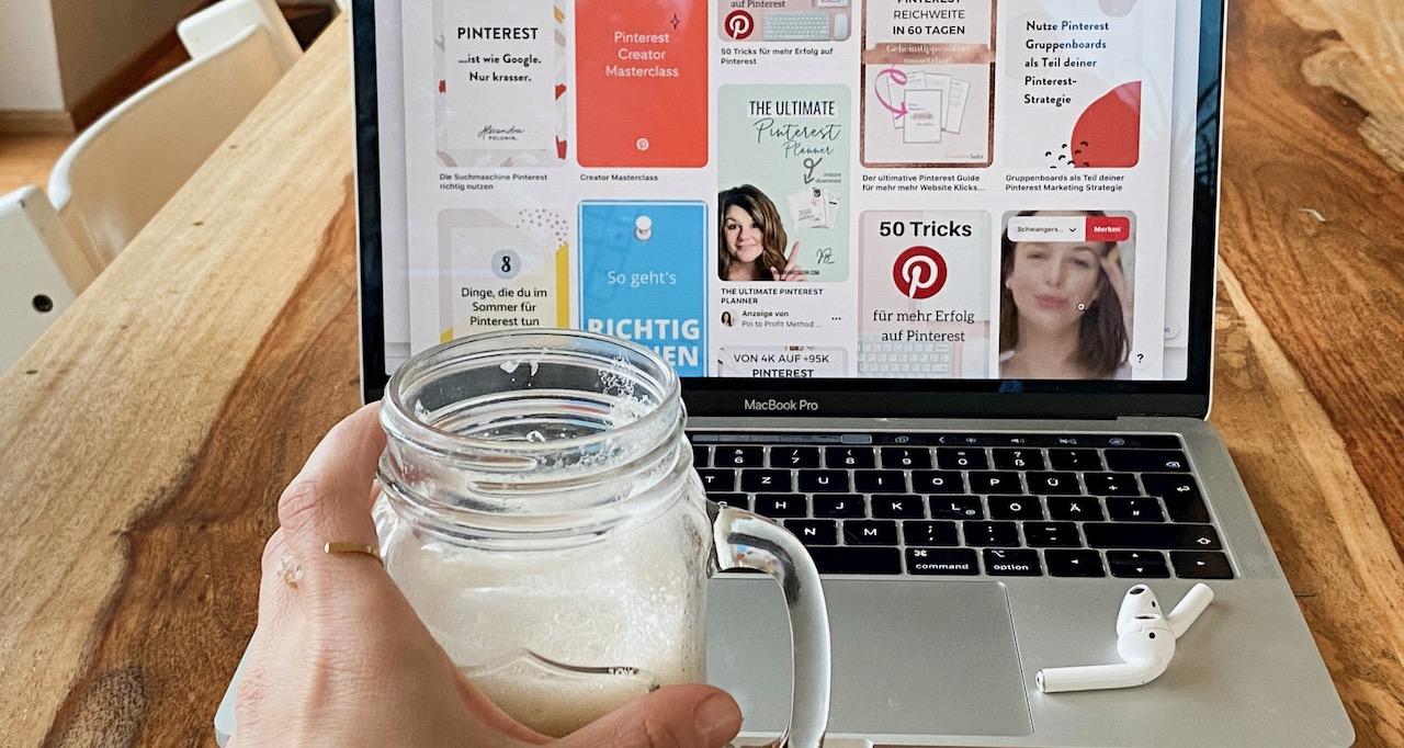 Podcast mit Barbara über Pinterest