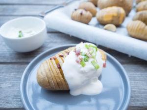 Fächerkartoffeln von Ulli - sie sehen so lecker aus und gehören einfach auf den Wochenplan Speiseplan.