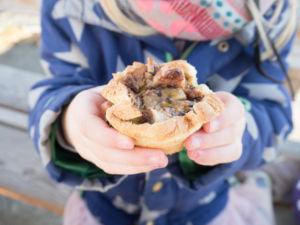 Süße Toastmuffins - Ulli lässt uns tolle Jausen Ideen hier.