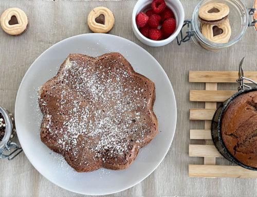 Blitzkuchen Rezept: Leckerer Schokokuchen mit Dinkelmehl