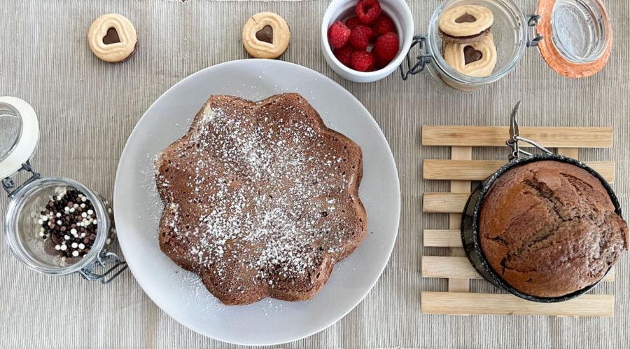 So gut! Ein einfacher Schoko Dinkelkuchen, der allen schmeckt.