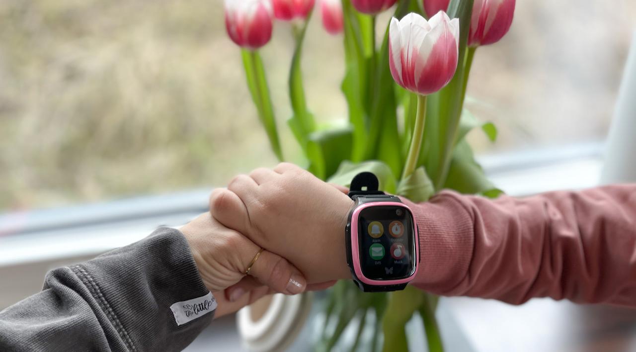 Smartwatch Kinder - die kleinste Tochter von Verena wollte unbedingt ein Handy haben, geworden ist es eine Smartwatch