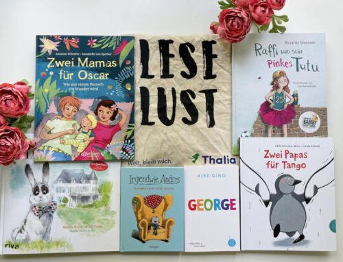 Akzeptanz und Toleranz von klein auf:  6 tolle LGBT Kinderbücher