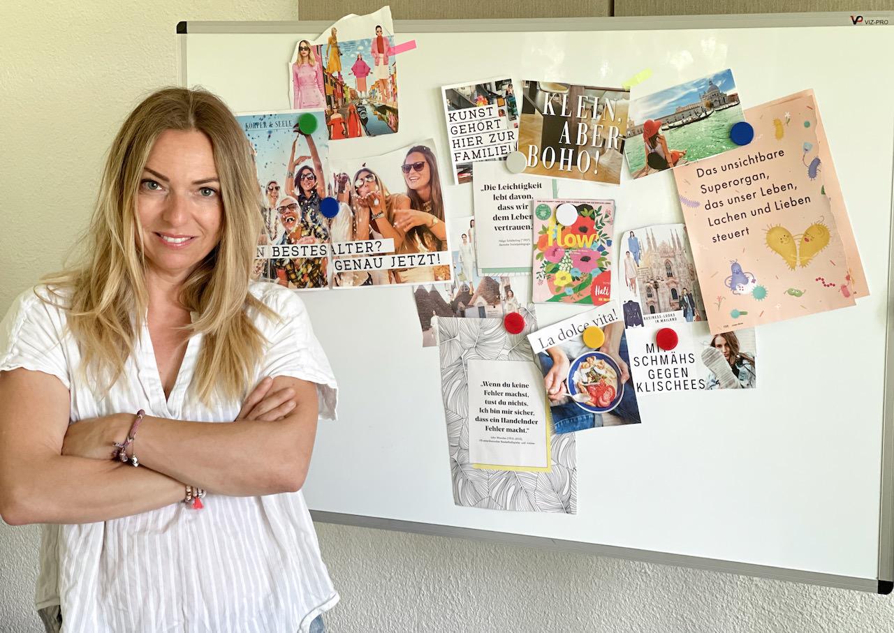 Mentale Stärke entwickeln als Mama mit Visionboard