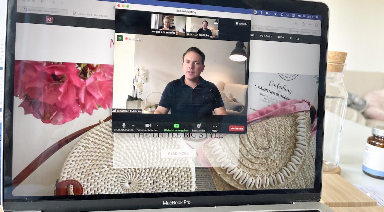 online Marketing Trends für Business-Moms - Sebastian Fiddicke im Gespräch mit Verena