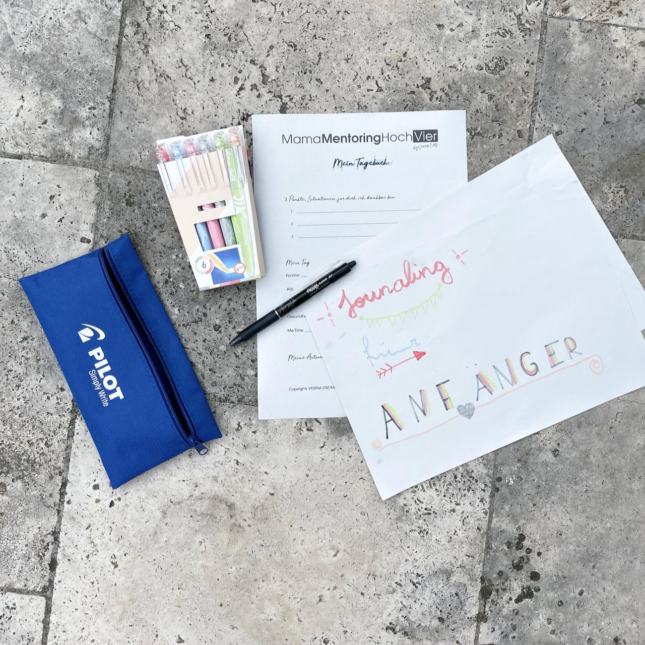 Tipps für das Journaling - so schreibst du dein Tagebuch